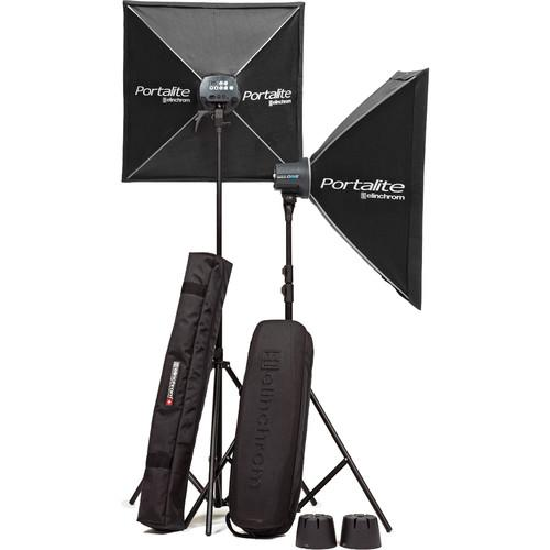 Elinchrom D-Lite RX One 2 Flash Head Kit with Softboxes