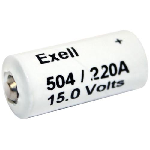 Exell Battery A220/504A 15V Alkaline Battery (60 mAh) A220/504A