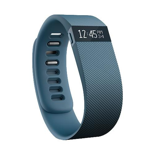 Fitbit Charge Activity   Sleep Wristband (Large, Slate) FB404SLL