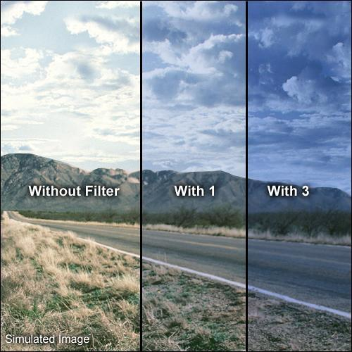 Formatt Hitech Solid Color Blue Filter (5 x 5