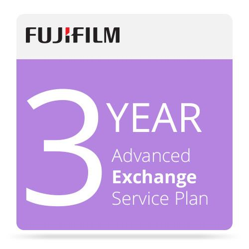 Fujifilm 3-Year Advanced Exchange Service Program 670003461