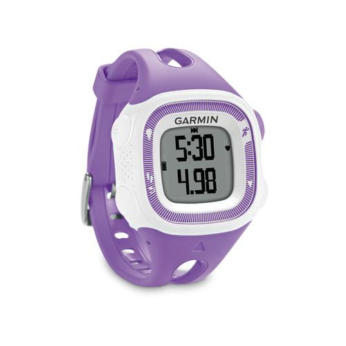 Garmin Forerunner 15 Bundle (Small, Violet/White) 010-01241-62