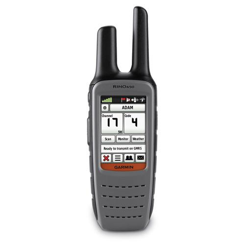 Garmin RINO 650 Two-Way FRS/GMRS GPS Radio 010-00928-01