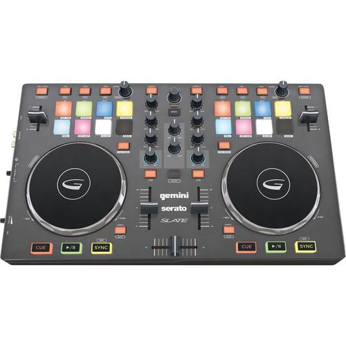 Gemini SLATE 2-Channel Slim Virtual DJ Controller SLATE