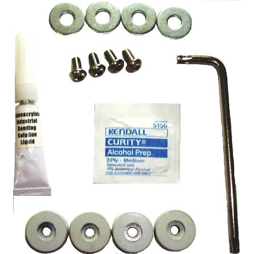 GORILLAdigital Security Disk Kit for Workstands (4 Disks) 8130-4