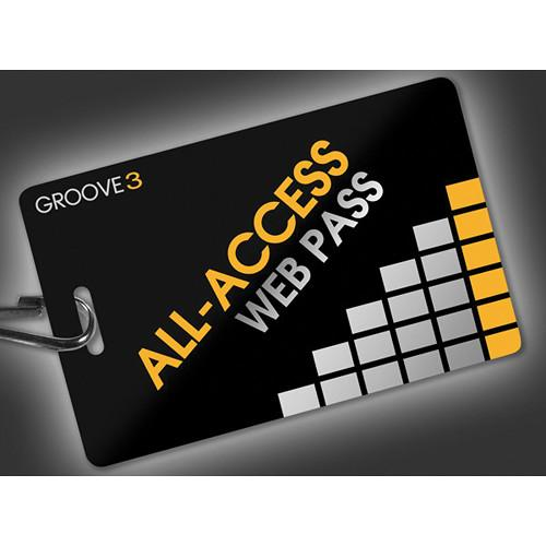 Groove 3 Groove3 All-Access Pass Subscription Card 143568