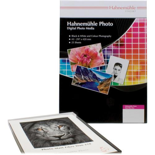 Hahnemuhle Matt Fibre Duo 210 Inkjet Photo Paper 10641380