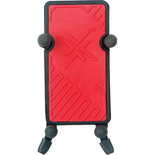 Hamilton Stands Phone Holder and Tube Clamp (Red) KB125E-RD