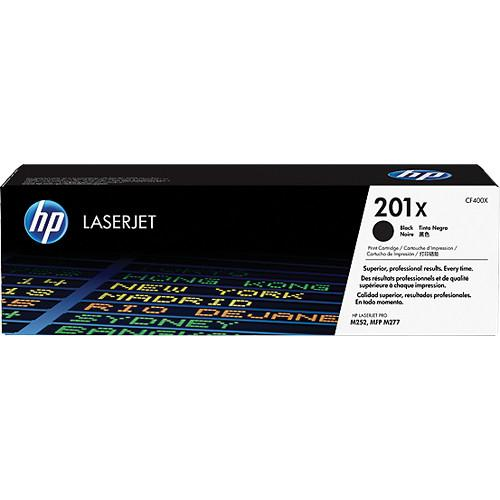 HP  201X High Yield Black Toner Cartridge CF400X