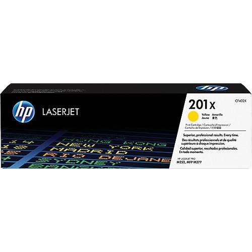 HP  201X High Yield Yellow Toner Cartridge CF402X