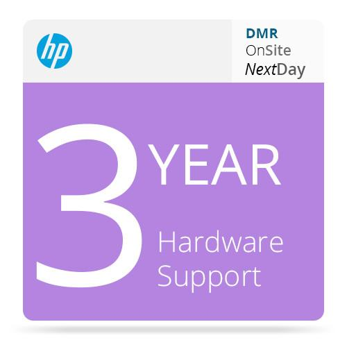 HP 3-Year Next Business Day Onsite Hardware & DMR UV213E