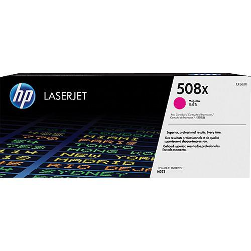 HP 508X High Yield Magenta Toner Cartridge CF363X