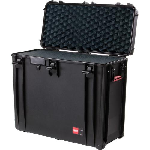 HPRC 4800WF Wheeled Hard Case with Cubed Foam HPRC4800WFBLACK