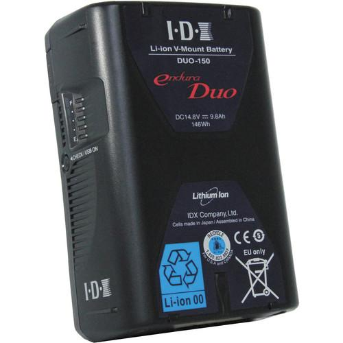 IDX System Technology Endura Duo-150 V-Mount 4-Battery D1544URSA