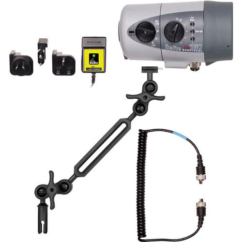 Ikelite DS160 Strobe Kit with Sync Cord, Li-Ion Battery 4060.34