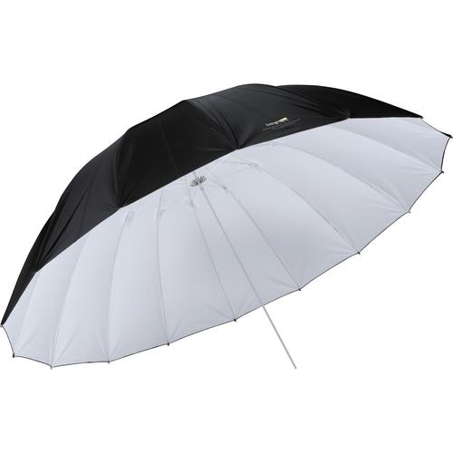 Impact 7' Parabolic Umbrella (White/Black) UP-7WB