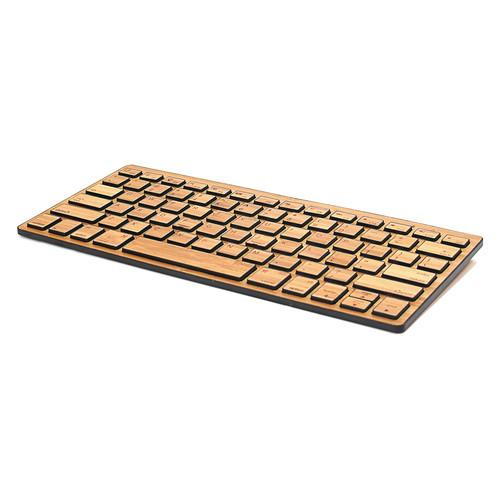 Impecca Bamboo Bluetooth Compact Wireless Keyboard KBB78BTK