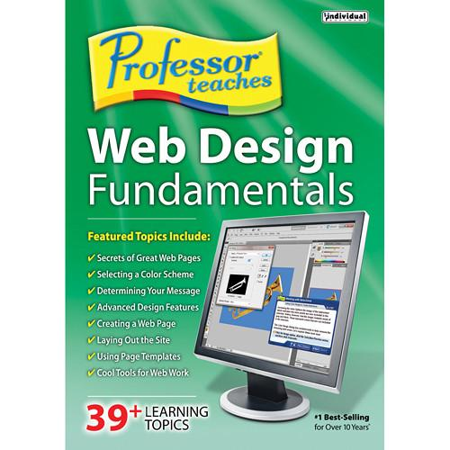 Individual Software Professor Teaches Web Design PTWEBDESIGNF