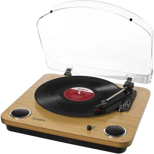 ION Audio Max LP Conversion Turntable With Stereo Speakers MAX