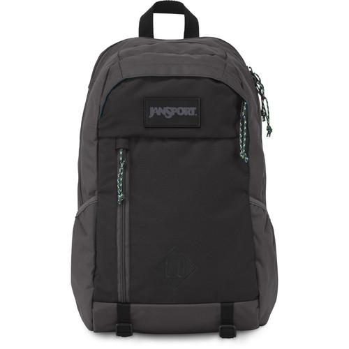 JanSport Fox Hole 25L Backpack (Gray Tar) T52M6XJ