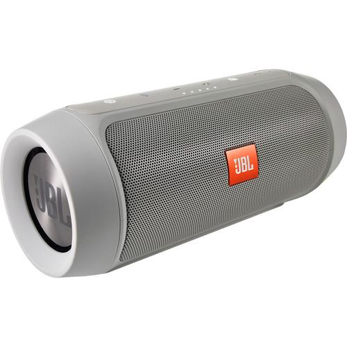 JBL Charge 2  Portable Stereo Speaker (Gray) CHARGE2PLUSGRAYAM