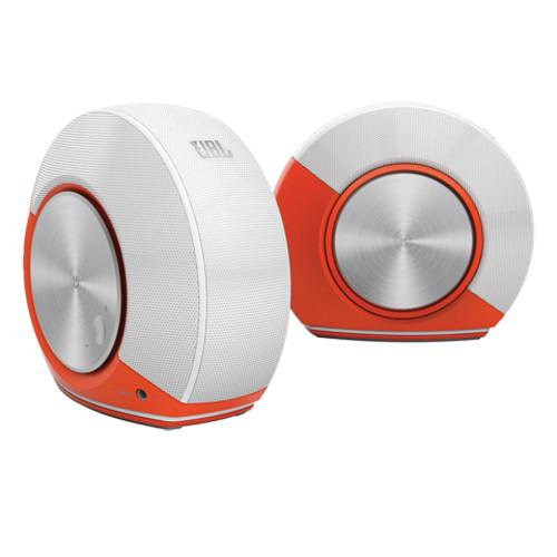 JBL Pebbles Speaker (Orange/White) JBLPEBBLESORGAM