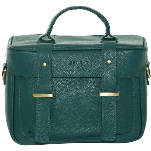 Jill-E Designs Juliette Leather Camera Bag (Teal) 464040