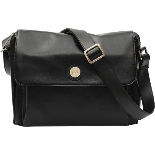 Jill-E Designs Tablet Messenger - Black Leather 373519