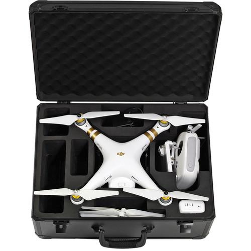 Koozam Aluminum Hard Case for DJI Phantom / Phantom 2 DJIHC-BLK