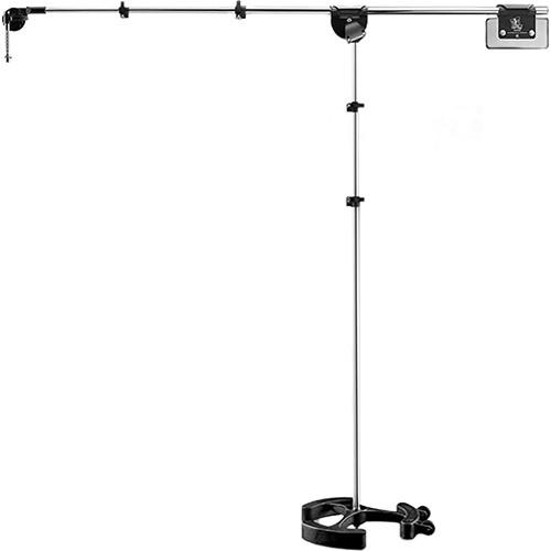 LATCH LAKE micKing 3300 Boom Microphone Stand (Chrome) MK3300CH