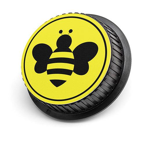LenzBuddy Bumblebee Rear Lens Cap for Canon (Yellow) 52101-04