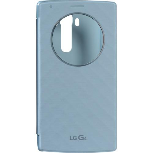 LG Quick Circle Folio Case for G4 (Blue) CFV-100-ACUSBLI