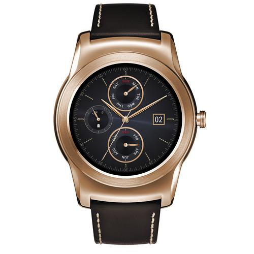 LG Watch Urbane Smartwatch (Gold with Brown Strap) LGW150.AUSAPG