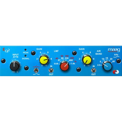 Maag Audio EQ2 - Equalizer Plug-In (Download) PA-MAA-EQ2