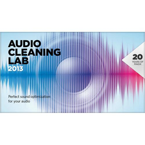 MAGIX Entertainment Audio Cleaning Lab 2013 - Audio RESMID013566