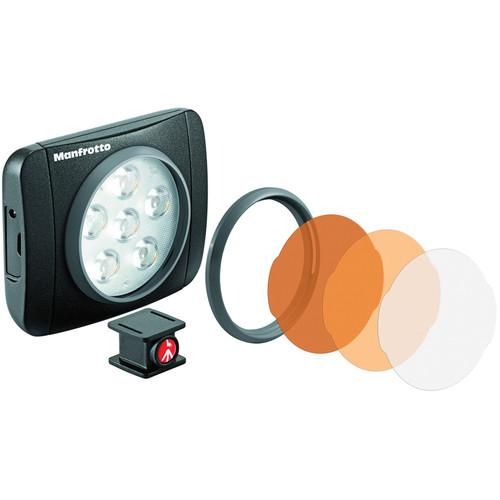Manfrotto Lumimuse 6 On-Camera LED Light (Black) MLUMIEART-BK