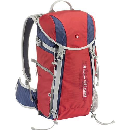 Manfrotto Off road Hiker 20L Backpack (20 L, Red) MB OR-BP-20RD