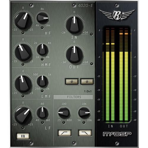 McDSP 4020 Retro EQ v6 - EQ and Filter Plug-In M-PI-4020
