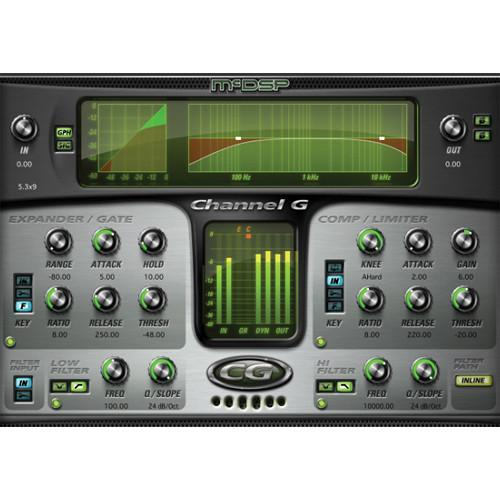 McDSP  Channel G v6 (Native, Download) M-PI-CGN
