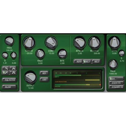 McDSP CompressorBank v6 (Native, Download) M-PI-CBN