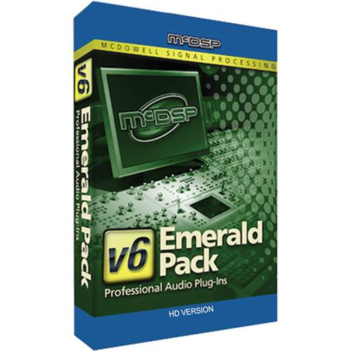 McDSP Emerald Pack HD v2 to v6 Upgrade - Complete M-U-EP2-EP5