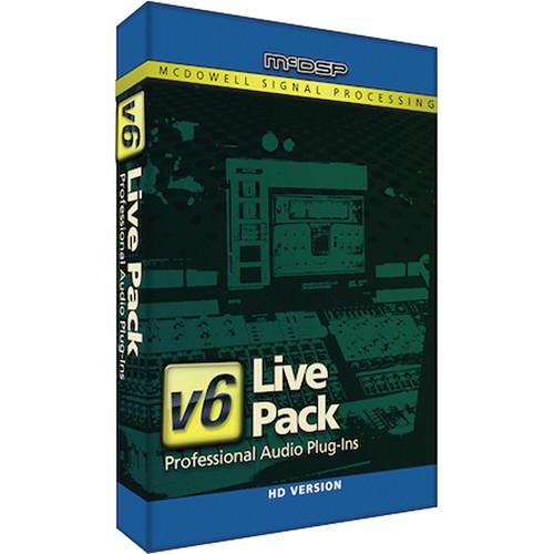 McDSP  Live Pack HD v6 (Download) M-B-LP
