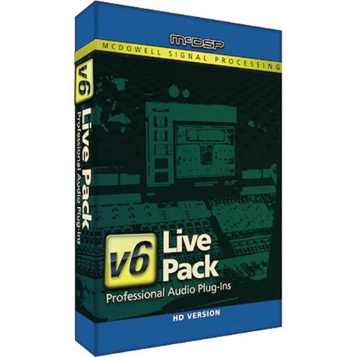 McDSP Live Pack v5 Upgrade to Live Pack HD v6 M-U-LP-LP2