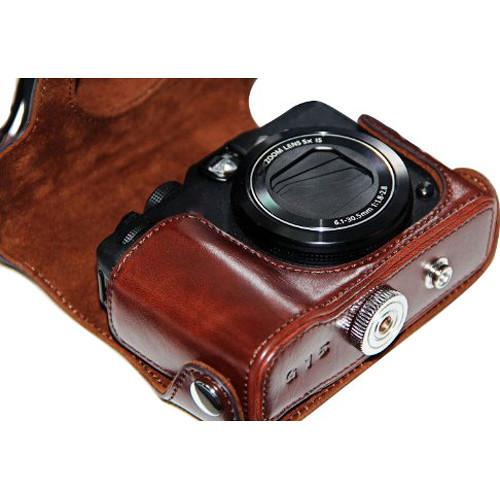 Mega Gear MG178 Ever Ready Leather Case for Canon MG178