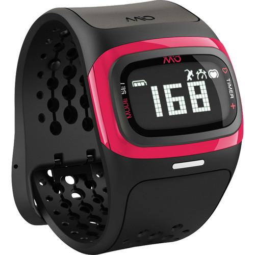 Mio Global ALPHA 2 Heart Rate Sport Watch (Pink Trim) 58P-PNK