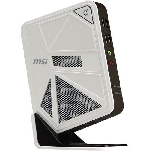 MSI Wind Box DC111 Desktop Computer (White) DC111-040US