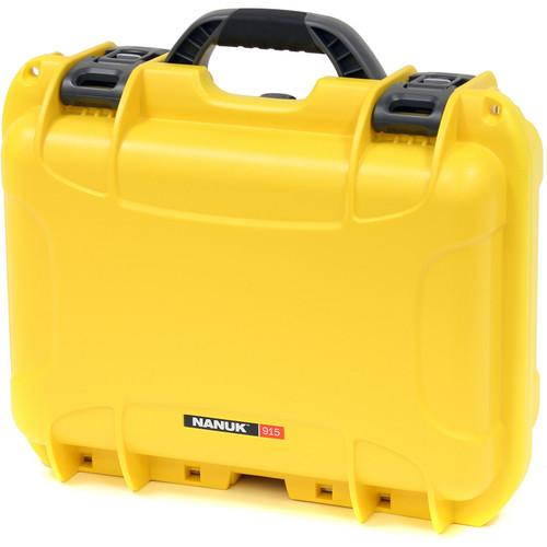 Nanuk  915 Medium Series Case (Yellow) 915-0004