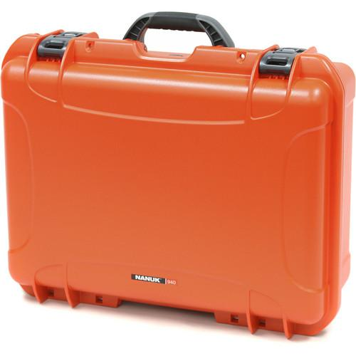 Nanuk  940 Case with Foam (Orange) 940-1003