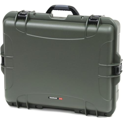 Nanuk 945 Case with Padded Dividers (Olive) 945-2006