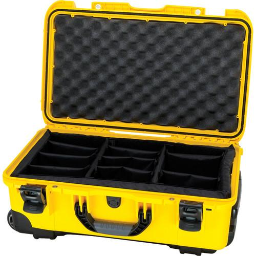 Nanuk Protective 935 Case with Padded Dividers (Yellow) 935-2004
